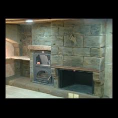 fotos de chimeneas rusticas