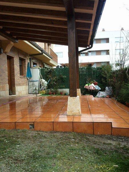 construccion porche decoraciones revestimientos rusticos fachadas ic artesania - Porches Rusticos