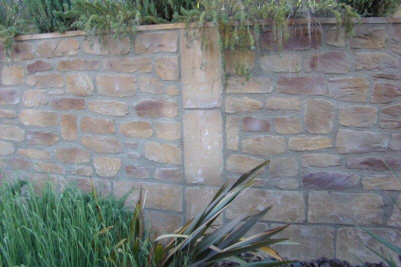 Muros jardin muro de contencin en jardin en colina u - Muros de jardin ...