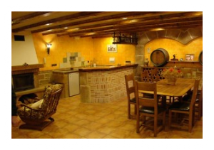 Decoraci n tem tica de bodegas r sticas decoraciones for Muebles para bodegas rusticas