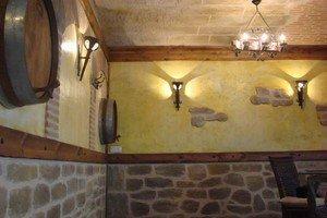Decoracion rustica decoraciones revestimientos rusticos - Botelleros de obra ...